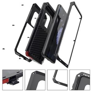 Luxury Fashion Tank Metal Armor Heavy Duty Protect Outdoor Sport Phone Case Cover for Samsung Galaxy s9 for Sale in Los Angeles, CA