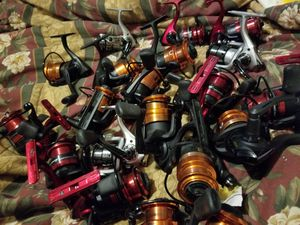 Fishing reels garcia 25 each for Sale in Indianapolis, IN