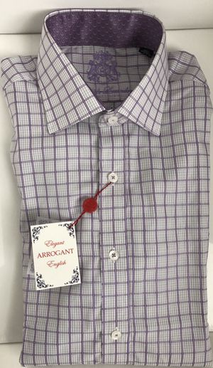 English Laundry Men's Purple Button Down Shirt NEW for Sale in Austin, TX