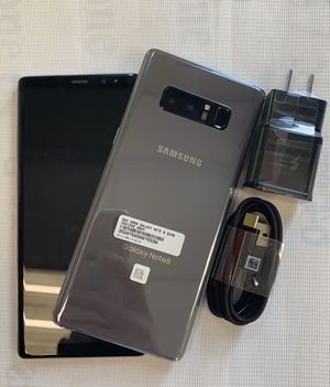 Samsung Galaxy note 8, unlocked , with store warranty and receipt for Sale in Somerville, MA