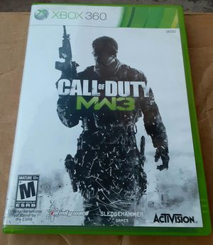 Xbox 360 Call Of Duty MW3 video game.. for Sale in Orlando, FL