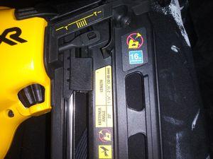 Dewalt Cordless Nail Gun XR / 16ga for Sale in Atlanta, GA