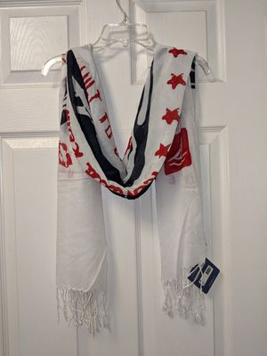 Summer Scarfs Sperry Top Sider Women's Nautical Fringed Scarf NWT for Sale in UPPR BLCK EDY, PA