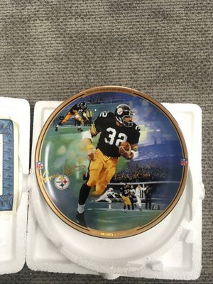 Franco's Immaculate Reception plate for Sale in Anchorage, AK