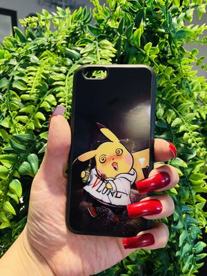 Brand new cool iphone 6, 6s REGULAR case cover rubber silicone pikachu Pokémon mens womens kids mens guys hypebeast hypebae womens girls hype swag for Sale in San Bernardino, CA