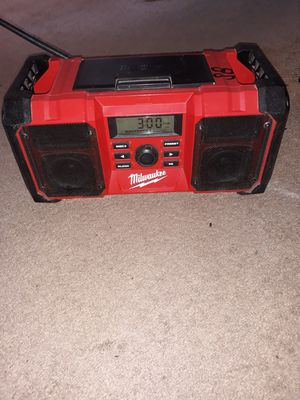 Milwaukee jobsite radio for Sale in Spring Valley, CA