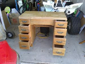 Antique sewing machine table for Sale in Queen Creek, AZ