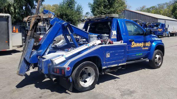 2008 dodge ram 5500 tow truck