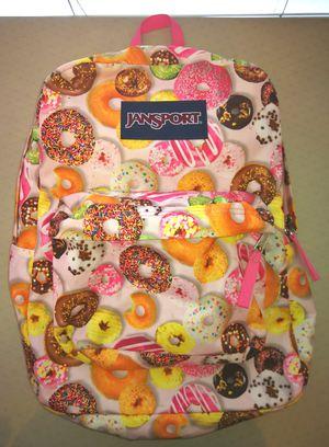 Donut Jansport Backpack Superbreak for Sale in Los Angeles, CA
