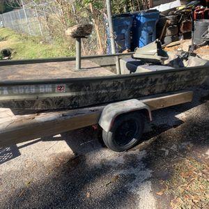 2016 Model 1032 Custom Jon Boat —Title In hand for Sale in Houston, TX