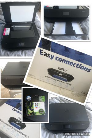 HP ENVY 5055 All-In-One Printer for Sale in Lauderdale Lakes, FL