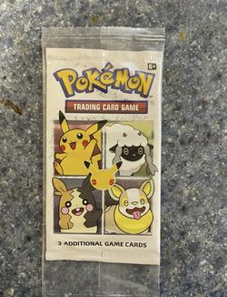 Sealed Pokemon 25th Anniversary General Mills Cereal Promo Pack Cinnamon Toast for Sale in Peoria,  IL