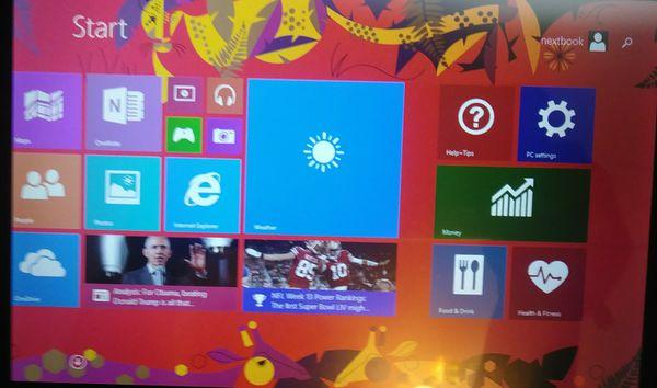 "8"" Touchscreen Nextbook Windows Tablet w/Detachable Keyboard Case"