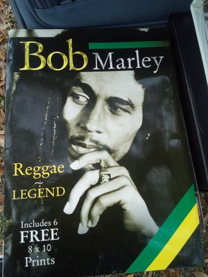 Official Bob Marley reggae package book set with posters for Sale in Jacksonville, FL