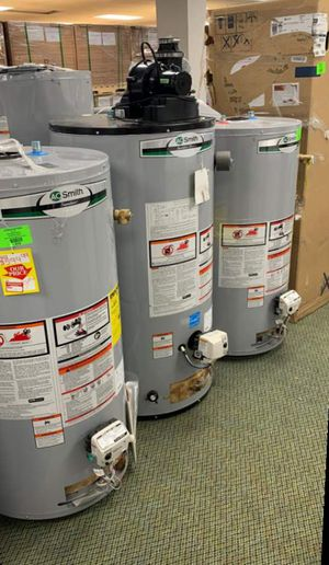 AO SMITH WATER HEATERS!!! GAS AND ELECTRIC!!! A for Sale in Houston, TX