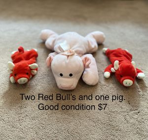 Two stuff bulls and a pig for Sale in Columbia, SC