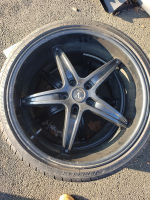 20 inch 5x114 Velocity brand wheels for Sale in Levittown, PA