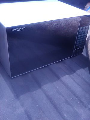 1000 watt brush Nickel microwave need gone for Sale in Largo, FL