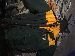 1990s BRAND NEW CHAMPION GREEN DAY PACKER VARSITY WINTER JACKET (RARE) NEG NEG NEGG jus starting off price then we can NEG for Sale for sale  Queens, NY
