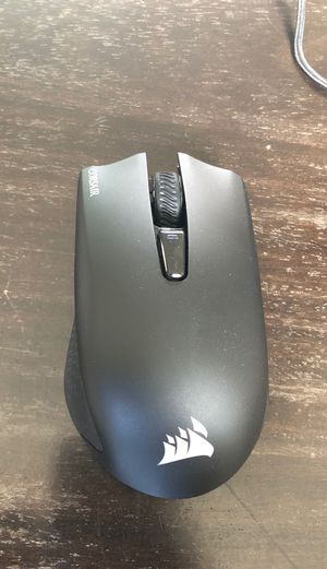 Wireless Corsair harpoon gaming mouse for Sale in Sterling Heights, MI