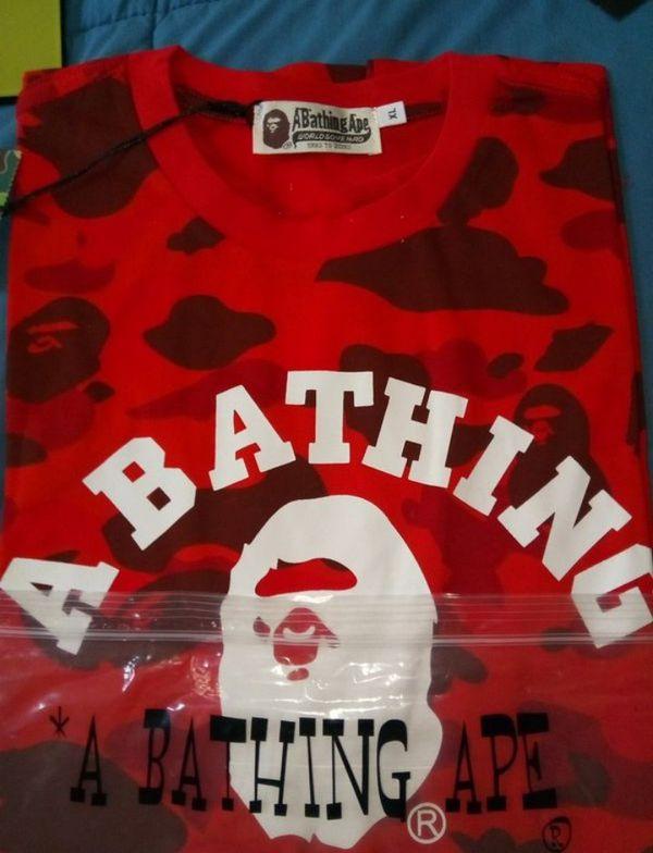 Bape Camo shirt bundle