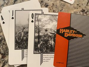 Harley Davidson historical game cards for Sale in Fairfax Station, VA