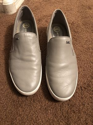 Women's size 8.5 grey Michael Kors shoes for Sale in Phoenix, AZ