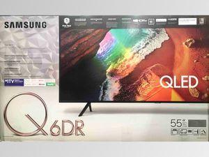 SAMSUNG 55-inch Class Q-Series 4K UHD HDR Smart QLED TV (QN55Q60RAF) for Sale in Gastonia, NC