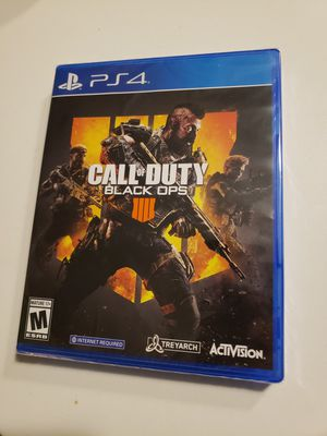 NEW Call of Duty Black Ops 4 for Sale in Chicago, IL