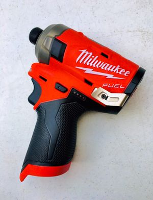 New Milwaukee M12 FUEL SURGE Brushless Impact Drill for Sale in Modesto, CA