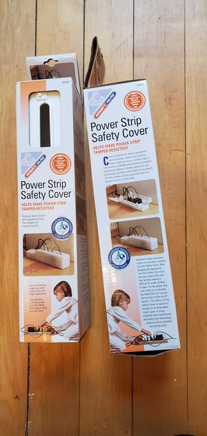Brand new power strip safety cover 2 of these for Sale in Pekin, IL