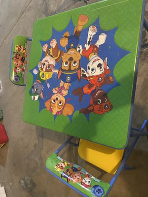 Paw Patrol kids table for Sale in Richland, WA