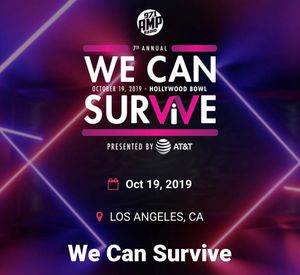 🎤🔥WE CAN SURVIVE 🔥 SOLD OUT SHOW 🔥SAT OCT 19 @ THE HOLLYWOOD BOWL (2) TICKETS 🎤🔥🍺🍹🍷🎫🎫 $500 FOR THE PAIR 🎀🎀 for Sale in Lynwood, CA