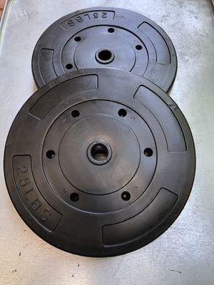 Dumbbell -2 set- (25 lbs x 25 lbs) (15 lbs x 15 lbs) Total (80 lbs) for Sale in San Jose, CA