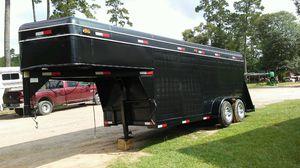 24 ft gooseneck enclosed cargo trailer , sundowner for Sale in Hockley, TX