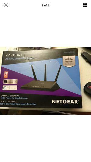 Netgear AC1900 Smart WiFi Router for Sale in Houston, TX