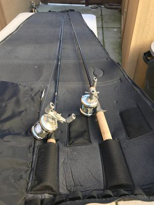 Shimano fishing reels, poles ++ for Sale in Elk Grove, CA