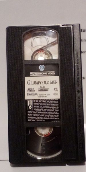 Grumpy Old Man Vhs for Sale in Steubenville, OH
