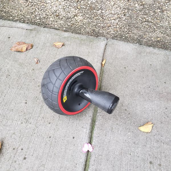 Ab Roller Wheel Exercise Wheel for Home Gym Fitness Equipment Accessories Perfect Fitness Ab Roller for Core Workouts
