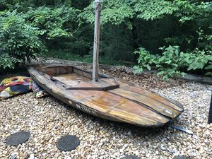 Old Pumpkin seed personal Sailboat for Sale in Cumming, GA