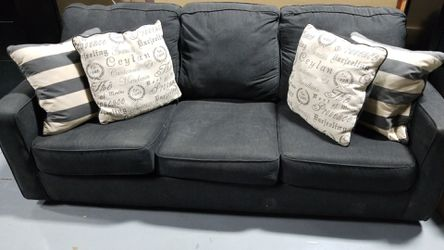 Charcoal Gray sleeper sofa for Sale in Nashville,  TN