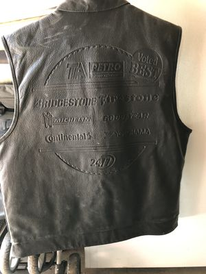 Leather Motorcycle Vest for Sale in Denver, CO