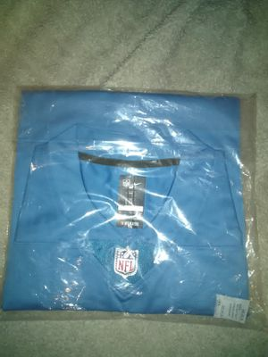 NFL Jersey blue fast shipping for Sale in Perris, CA