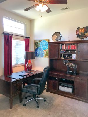 Credenza, hutch, desk for Sale in Chico, CA
