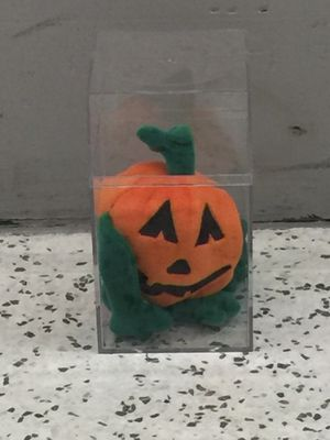 Beanie Babies Pumkin with Protective Case for Sale in Nashville, TN