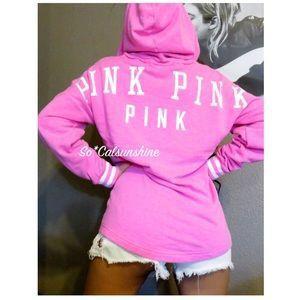 Victoria Secret Pink hoodie & Pink long sleeve Tee for Sale in Arlington, VA