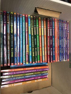 Goosebumps Books (32 total) - RL Stine for Sale in Concord, CA