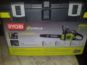 Ryobi 2 Cycle Chainsaw for Sale in Cartersville, GA