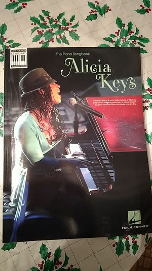 Alicia keys piano book for Sale in Appomattox, VA