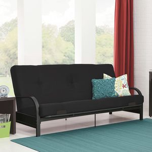 Brand New Contemporary Full Size Metal Futon Sleeper Sofa Bed in Black for Sale in Dunwoody, GA